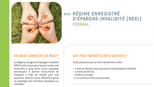 Régime enregistré d'épargne-invalidité (REEI)